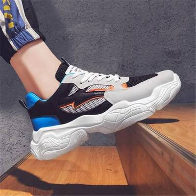 Men's Fashion Casual Color   Matching Sneakers