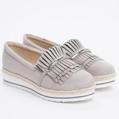 Girly Sweet Style Low Heels Fringe Teim Casual Loafers