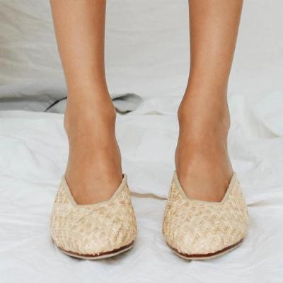 Women Chunky Point Toe Sandals