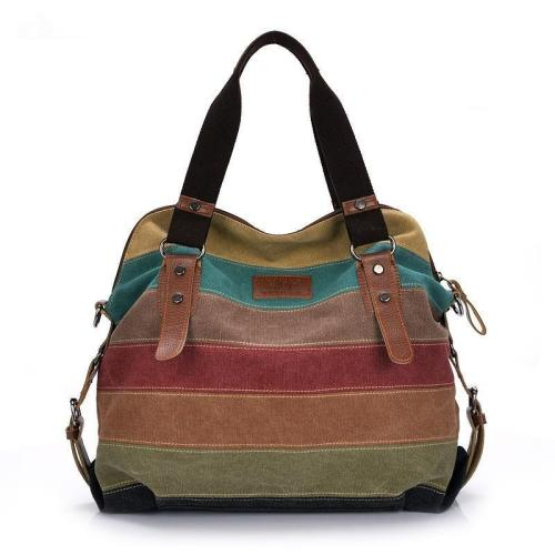 Canvas Women Casual Shoulder Bag Handbag