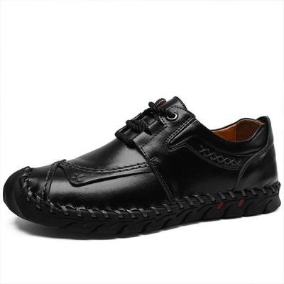 Mens Breathable Lace-up Fashion Casual Flats