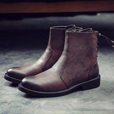 Men's Pointed Martin Men Boots
