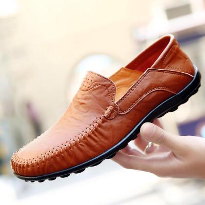 Men's Business Casual Shoes Single Shoe Cover Feet