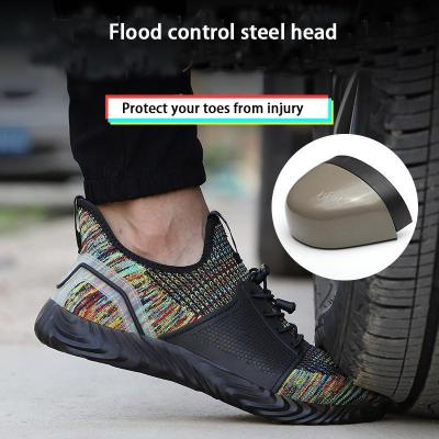 Labor Insurance Shoes Men's Soft Protective Shoes