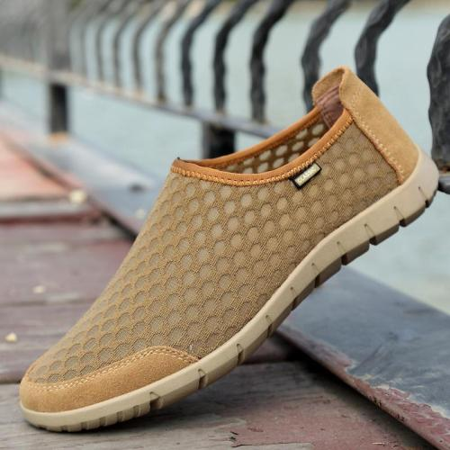 Men Breathable Casual Mesh Shoes