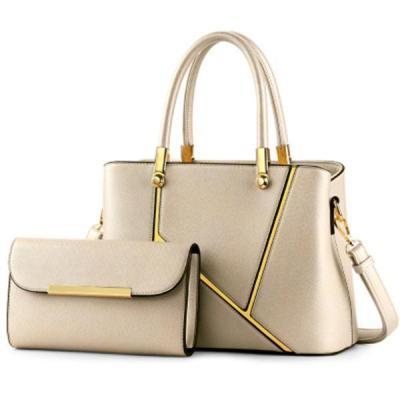 Fashion Functional 2 PCS PU Leather Handbag Crossbody Bag