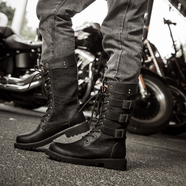 High-top trend to increase the British Martin boots