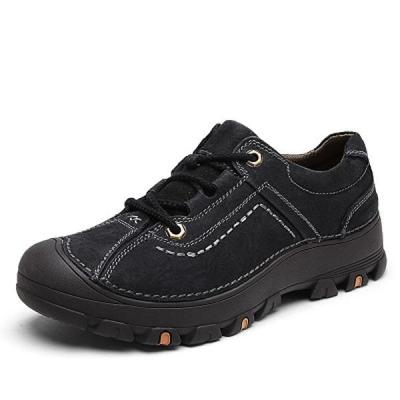 Mens Fashion Outdoor Climbing Shoes Lace Up Flats