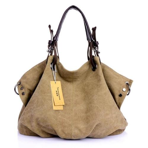 Canvas Multifunctional Leisure Handbag Messenger Bag