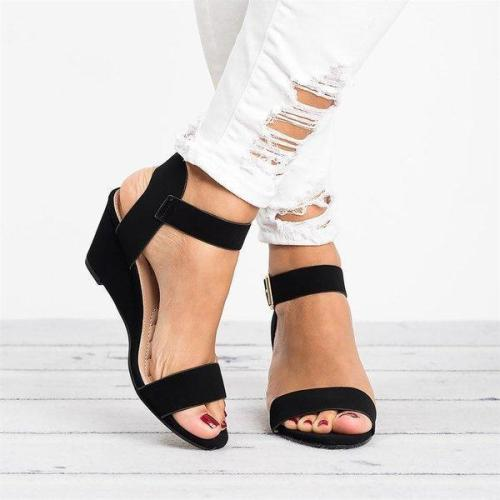 Solid Ankle Wrap Wedges