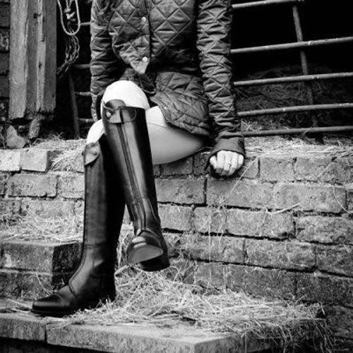 Women Chic Zipper Riding Boots Plus Size Knee-high Boots