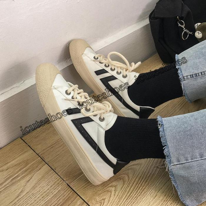 Canvas Shoes Women Spring New Shoes Cloth Shoes