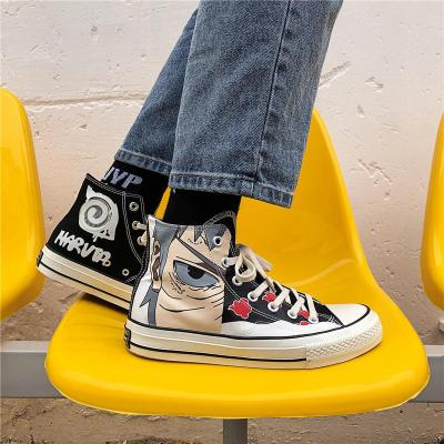 New High-gang Canvas Shoes Men's Shoes Trend Shadow Casual Shoes