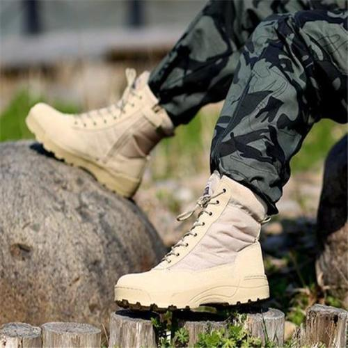 New Arrival Fashion Solid Color Thermal High Tube Men Boots