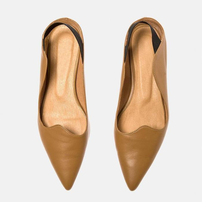 Women's Simple Casual Pointed   Flat Shoes