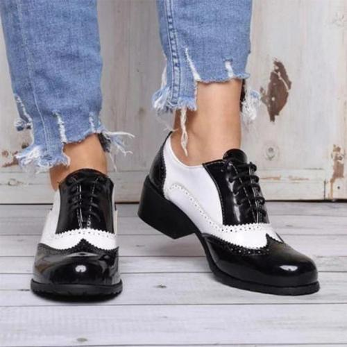Plain Flat Round Toe Date Travel Flat & Loafers