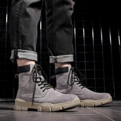 Casual Leather warm army boots   Martin boots