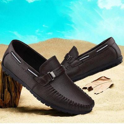 Mens Soft Sole Driving Shoes Moccasins Casual Shoes