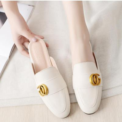 2020 New Spring Cool Slippers Ladies Wear Outside Fashion Cozy Muller Cross-border