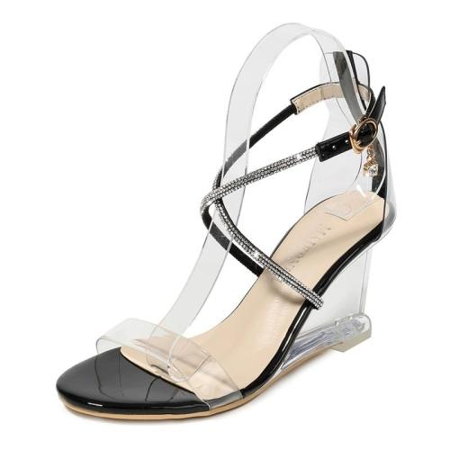 Sandalias Mujer Ladies Wedges High Heels Women Sandals Women Shoes Open Toe Party Women Shoes