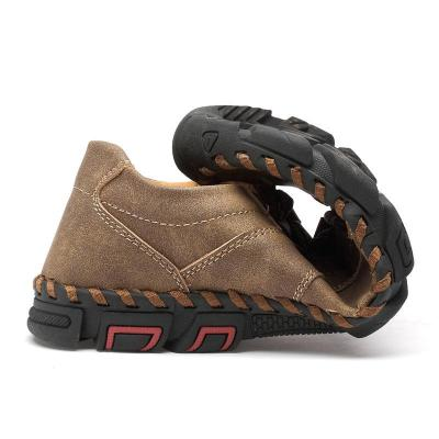 Men's Fashion Outdoor Lace Up Flat Shoes
