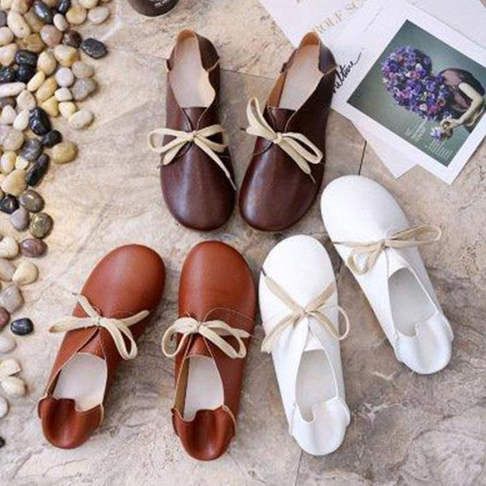 Comfortable Classic Round Toe Loafer