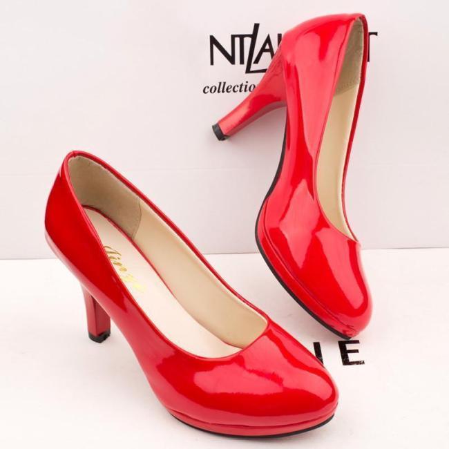 Elegant Slim Heel PU Wedding Party Shoes