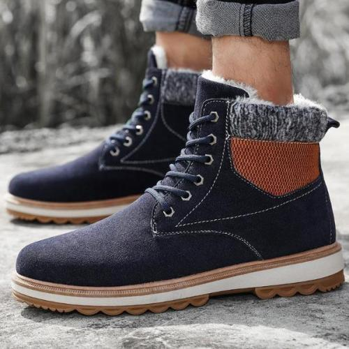 Winter Waterproof P[Added Warm Men's Martin Boots