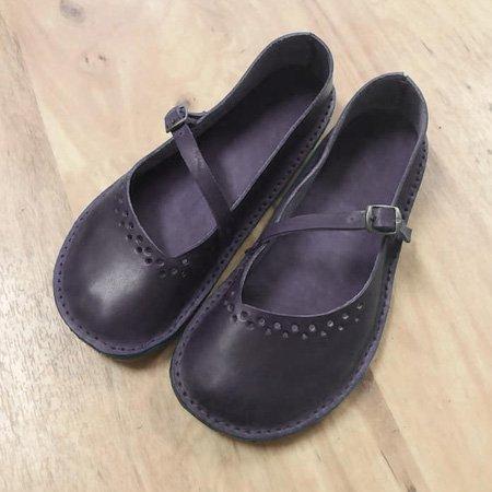 Retro Flat Comfortable Women's Shoes