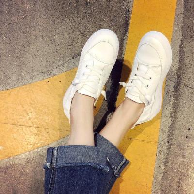 Lace-up Casual Shoes White Shoes Women