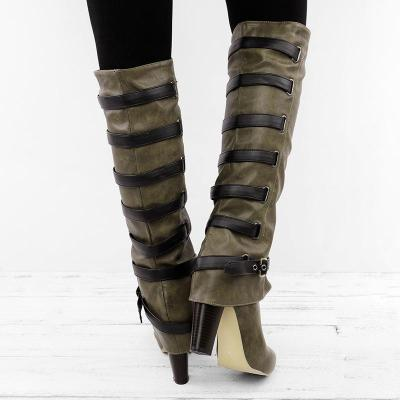 Women Vintage Boots Casual Plus Size Shoes