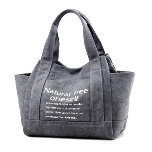 Canvas Outdoor Casual Handbag Shoulder Bag