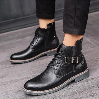Men's high-top Martin boots