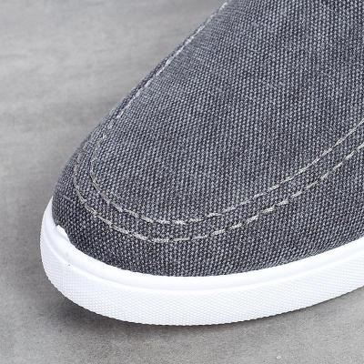 Mens Fashion Casual Canvas Lace-up Flat Shoes