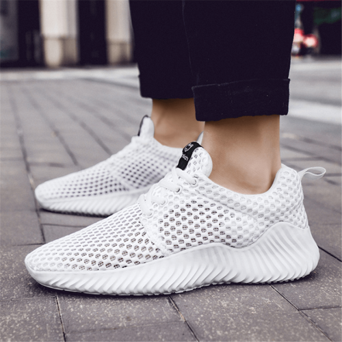 Men's Fashion Breathable Cutout   Sneakers