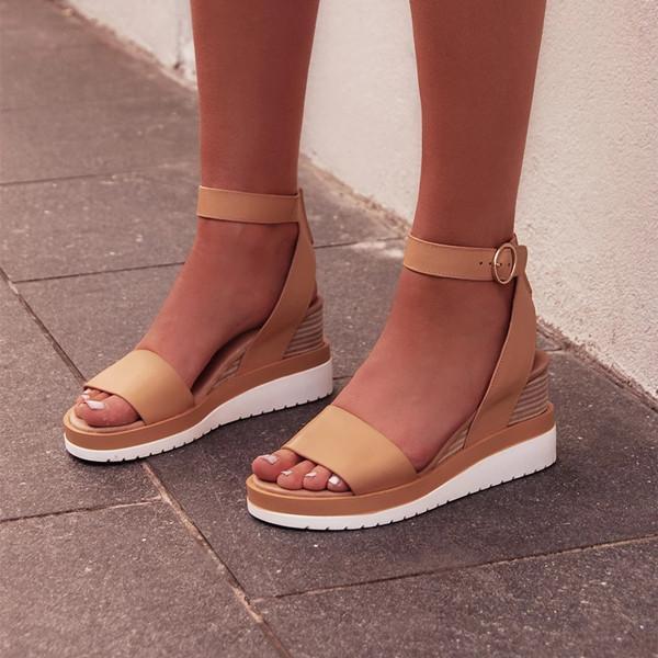 Women Summer Fashion Wedge Sandals