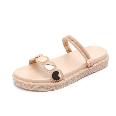 Sandals Women's Slippers Outside The Summer Flat Bottom Shoes