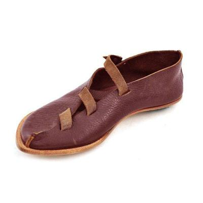 Wrap-around Design Flat Shoes Loafers
