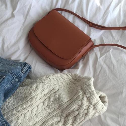 2019 New PU ins Crossbody Retro Shoulder Bag