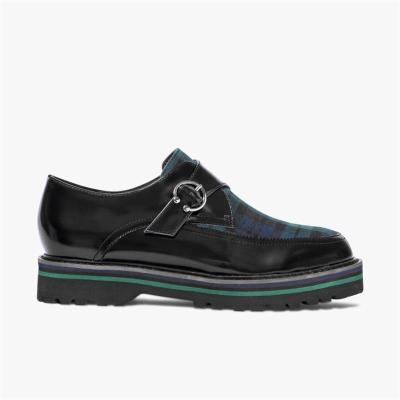 Spring Comfort Platform Plaid Shoes