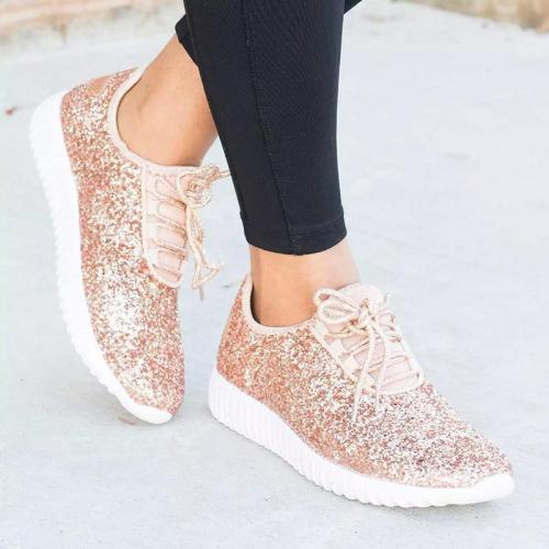 Women's Comfy Round Toe Sports Shoes