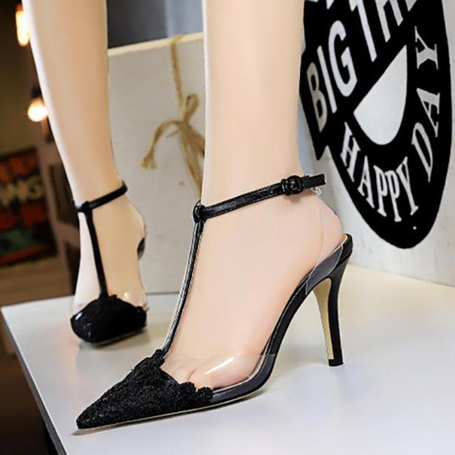 Sexy Cocktail Pointed Toe High Heel Shoes