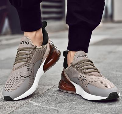 Men's trend casual Flying weaving sport sneakers