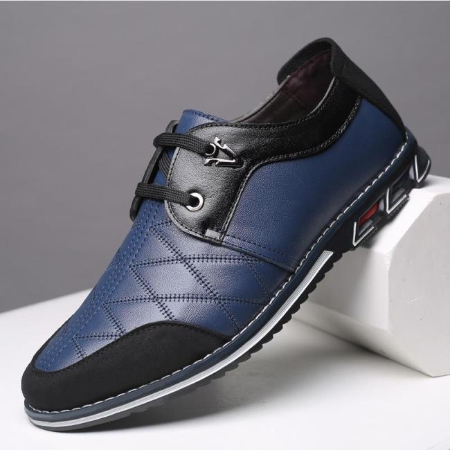 Men Genuine Leather Casual Shoes