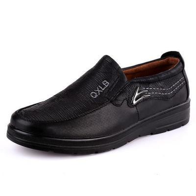 Mens Anti slip Flat Shoes Slip on Soft Comfy Shoes