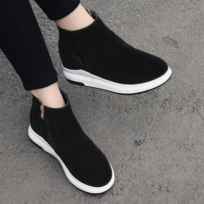 Women Daily Casual Wedge Heel Slip-on Loafers Plus Size Shoes