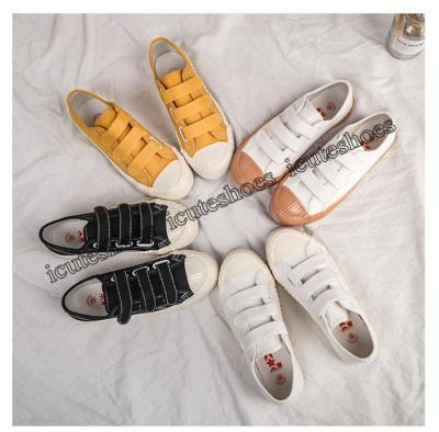 Canvas Shoes Women's Shoes 2020 New Retro Students' Platform Shoes Women