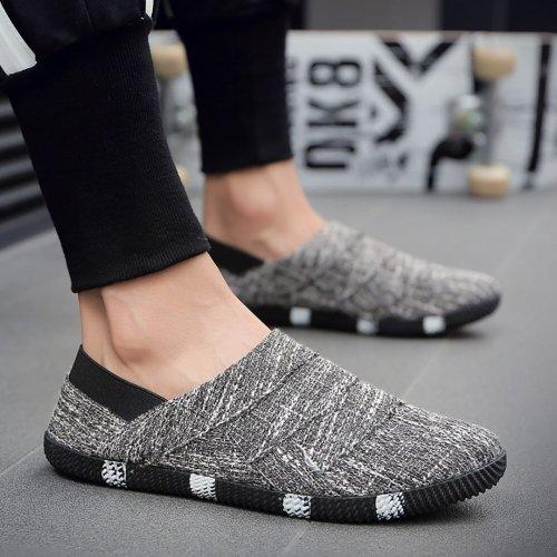 Comfortable soft bottom breathable linen shoes