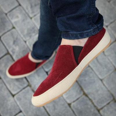 Old Peking Flat Heel Canvas Casual Shoes