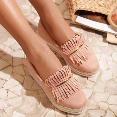 Women's Casual Solid Color Comfy Flats